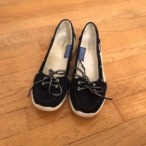 Rockport Blue Low Boat Shoes